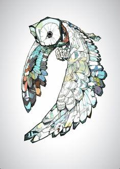 Owl print line art illustration Illustrations, Illustration Art, Tatoo Art, Tattoo Owl, Lotus Tattoo, Owl Art, Art Graphique, Pics Art, Art Design