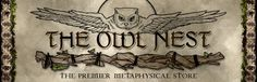 The Owl Nest Metaphysical Store. Loose tae blends made locally in Frederick, Md