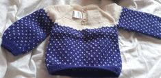 Blaubeerpullover Pullover, Polka Dot Top, Sweaters, Tops, Women, Fashion, Hand Crafts, Knit Jacket, Clothing