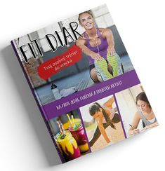 Fit diár - tvoj osobný tréner do vrecka Food And Drink, Drinks, Cover, Fitness, Cards, Drinking, Beverages, Drink, Maps