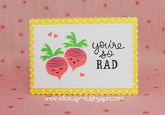 the Lawn Fawn blog: A Sweet Rooting for You Card Set by Elise!