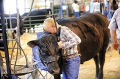 """A boy says good bye to his pet steer after he has been sold for slaughter. Every child is born with a big heart ready for love. We teach them otherwise. We teach them animals are things. Killable, dismemberable things to serve our oral pleasures. That """"we have always done so"""". With time this boy, as every one of us grows into an indifferent adult.  Then the circle of abuse gets repeated once again. Veganism is about reclaiming back the humanity which was stolen from us long time ago."""