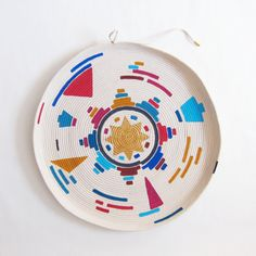 Painted rope plate
