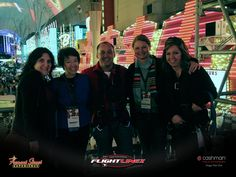 Zip Line Las Vegas.....Wendy, Sandy, Dave, Kristine, and Tracy enjoyed the zip line over Freemont Street. Ready to give it a try? Contact Travel Leaders to book your Vegas getaway today. travel@tvlleaders.com  763-231-8870