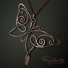 wire butterflies