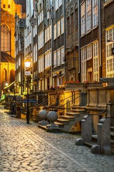 Mariacka Street in Gdansk by fotoLajt © Danzig, Old Town Gdansk, Sopot Poland, Visit Poland, Poland Travel, Stavanger, Krakow, Beach Trip, Beautiful Places