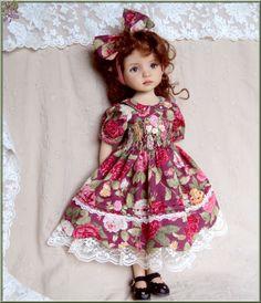 """""""Petite fille modèle """"  Dress  for EFFNER Little Darling 13"""" Doll"""