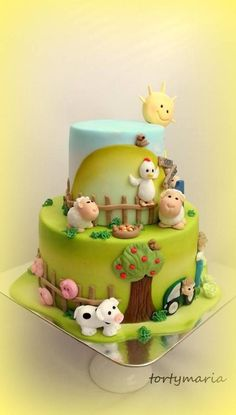 baby cake by tortymaria