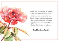 funeral thank you note Bereavement Wording for Thank You Cards Words For Sympathy Card, Sympathy Notes, Condolence Messages, Condolences Notes, Thank You Note Wording, Funeral Thank You Notes, Thanks Words, Message For Dad, Words Of Comfort