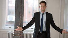 Mike Ross or Patrick J Adams, Suits Suits Tv Series, Suits Tv Shows, Suits Season 1, Season 2, Mike Ross Suits, Patrick J Adams, Sarah Rafferty, Suits Usa, Skinny Ties