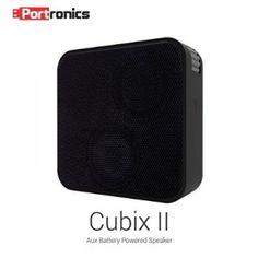 Portronics POR- 512 Cubix II Wired Portable Speaker