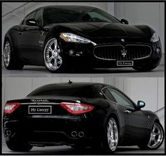 Maserati Gran Turismo & Quattroporte tuning - suspension - exhaust - wheels uhh yea PLEASE!