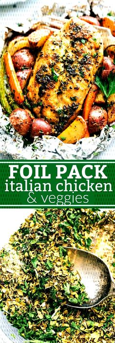 #chelseas #italian #chicken #veggies #messy #apron #foil #pack #and Foil Pack Italian Chicken and Veggies | Chelsea's Messy ApronYou can find Italian chicken breast and more on our website.Foil Pack Italian Chicken and Veggies | Chelsea's Mess... Linguine, Chicken And Vegetables, Veggies, Healthy Eating Tips, Healthy Recipes, Clean Eating, Grilling Recipes, Cooking Recipes, Grilling Tips
