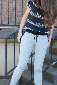 Hudson pants from cutcutsew