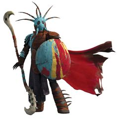 How to Train Your Dragon 2 - Valka - Dragon Armor