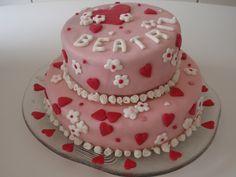 O mesmo. Meu primeiro bolo decorado ,para minha adorada menina.