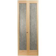 AWC 637 Crystalline Glass Bifold Door