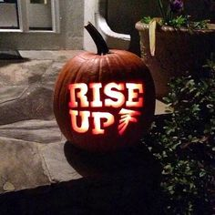 Take pumpkin carving to a whole new level this year and show some Atlanta Falcons pride.