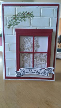 Father Christmas von Stampin up ©
