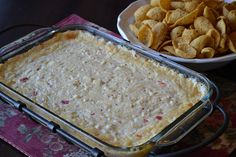Creamy Pepper Jack Chicken Dip ~ found at Foodie Friday