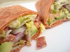 BLT Ranch Wrap Vegan Style! So Easy and YUM!