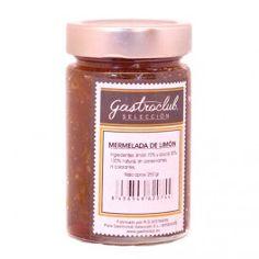 Mermelada de limón 100% natural, sin conservantes ni colorantes. 250grs.