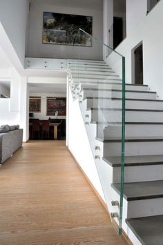 Love the Look of the Glass with the Stairs.........