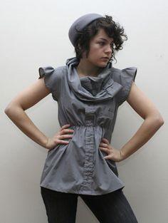 reconstructed men's shirt