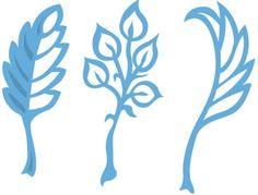 Lr0226 Creatable Anja's Leaves 1