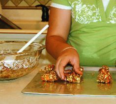 Homemade horse treats:  Oatmeal Carrot Crunchies.  Lovin' from the oven - for our 3 equine loves.  <3