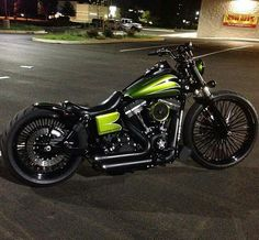 Street bob-I want chrome spokes like these on my K-9!