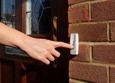 Fix doorbell push button