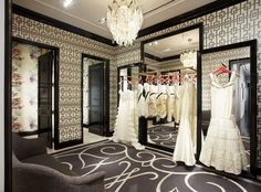 Boutique Dressing Room Ideas | Milly opens flagship boutique on 900 Madison Avenue, New York, NY