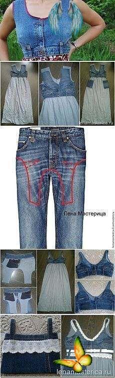 Dieses Oberteil, das Denim Sommerkleid Master Class Alteration Denim Hosen, #alteration #class #d Diy Jeans, Sewing Jeans, Sewing Clothes, Dress Clothes, Diy Fashion, Trendy Fashion, Fashion Outfits, Fashion Clothes, Trendy Outfits