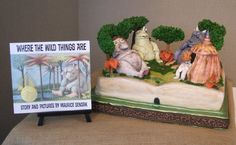 more edible books.  Love the cake AND the book