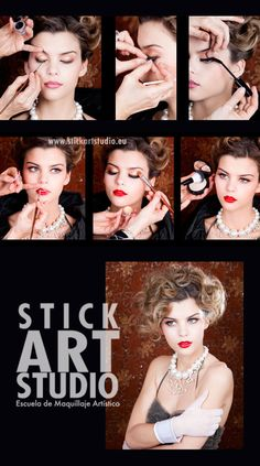 Escuela de maquillaje profesional Stick Art Studio.  Barcelona, España.