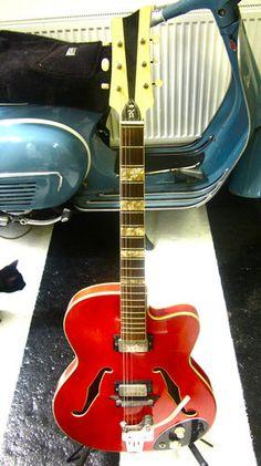1964 65 Klira Framus 'Lady' thinline.