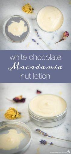 White chocolate macadamia nut oil white chocolate