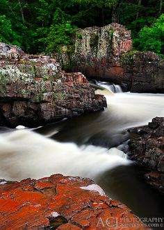 Dells of the Eau Claire, Wisconsin; photo by .Aaron C. Jors