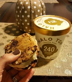 Questbar Halo Top Ice Cream Sandwich