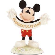 LENOX Disney's Mickey's Congratulations Figurine