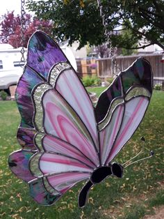 Stained Glass Studio, Stained Glass Designs, Stained Glass Patterns, Stained Glass Art, Fused Glass, Abstract Pictures, Glass Butterfly, Pewter, Butterflies