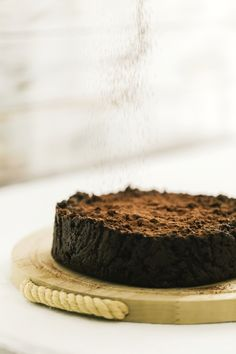 Chocolate and cocoa bread pudding cake - Italian recipe - OPSD blog