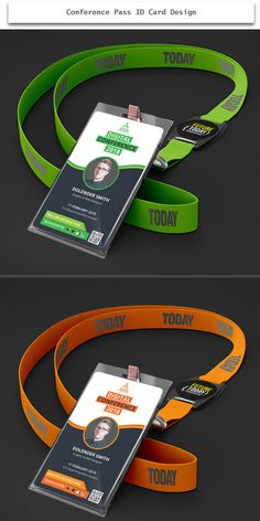 conference pass id card