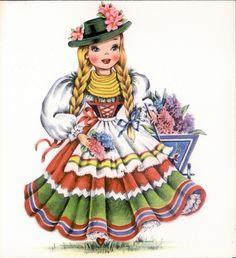 Hallmark - Dolls of Many Lands - Germany