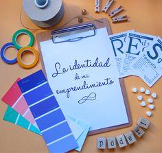 La importancia de la identidad de tu proyecto + Incluye paper descargable para completar.