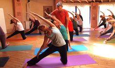 The program starts with early morning classes of asana, pranayama and meditation, progressing upwards through the elemen....