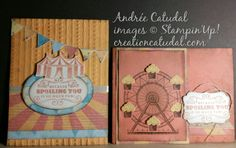 Birthday Carousel Stampin Up #OnStage2016
