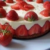 PAGÁČE - len tak k vínečku (fotorecept) - recept Naan Flatbread, Great Recipes, Favorite Recipes, Jambalaya, Sweet Cakes, Pavlova, Food Art, Cheesecake, Strawberry