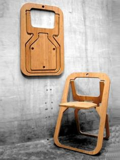 Folding #bamboo #chair DESILE by Vange | #design Christian Desile